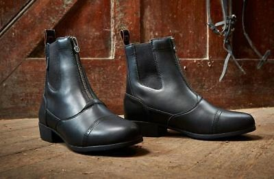 Dublin Summit Front Zip Jodhpur Boots - All Sizes & Colours Available