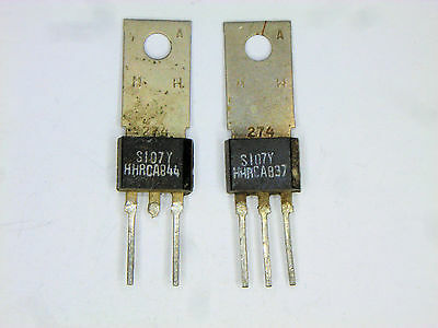 S107Y Generic Silicon Control Rectifier SCR  TO-202   2 pcs