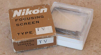 Nikon F F2 Focusing Screen Type T TV for television F2AS F2A F2S F2SB FTn FT T