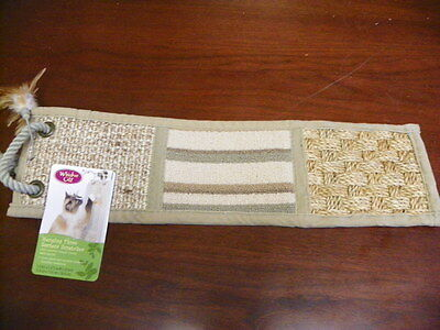 Whisker City Hanging Three Surface Cat Scratcher **Brand New**