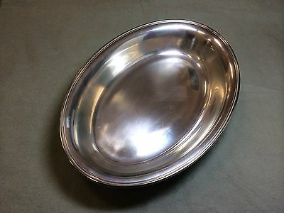 "Alvin Sterling Silver Serving 9 1/2"" x 6 1/2"" Inches"