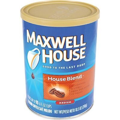 Diversion Safe-Maxwell House Coffee w/ Interior Hidden Compartment For Valuables