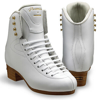 NEW Jackson Women's DJ 2500 Premiere Ice Figure Skates - Boot Only - Size 8.5 B