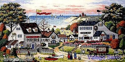 Dimensions Gold Counted Cross Stitch kit Charles Wysocki ~ COZY COVE Sale #03896