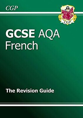 GCSE French AQA Revision Guide by CGP Books Paperback Book The Cheap Fast Free
