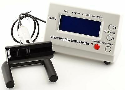 NEW Multifunction Timegrapher NO. 1000 Watch Timing Machine Calibration Tester