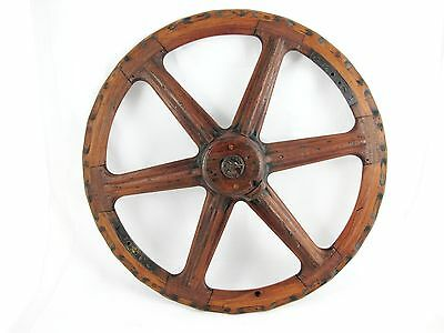 Wooden Mould For Wheel C1930'S