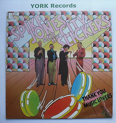 SPIKE JONES - Thank You Music Lovers - Ex Con LP Record RCA Victor LSA 2084