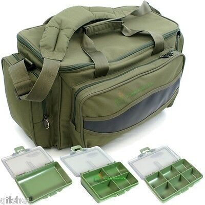 NGT Carp Fishing Camo Padded Carryall Holdall Tackle Bag Fully Insulated 709c
