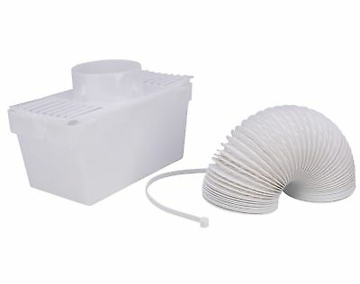 New Hotpoint Tumble Dryer Condenser Air Vent Hose Pipe Kit Box Adaptor Set