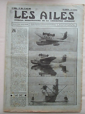 AILES 1934 669 LeO H-242 BLOCH 141 DIVING BOMBER SIKORSKY S-42 PARIS TANANARIVE