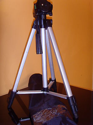 NEW 53'' PROFESSIONAL Flexible Tripod Mount Stand for Camera/Camcorder Portable