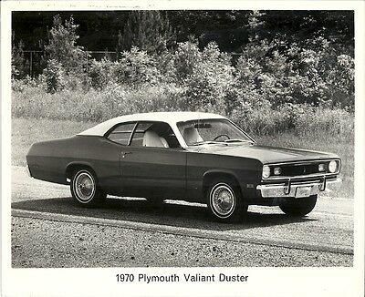 Plymouth Valiant Duster 1970 Period Press Photograph.