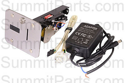 DUAL VOLTAGE ELECTRONIC COIN ACCEPTOR FOR WASCOMAT GEN4 & GEN5 WASHERS