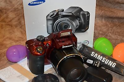 Samsung WB1100F 16.2 MP Digital Camera-Wi-Fi & NFC,35x Optical Zoom,HD Video