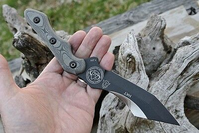 TOPS USA - C DESPINS - HKT - OFFICIAL MOBIUS TRAINING SOLUTIONS KNIFE - $170 NEW