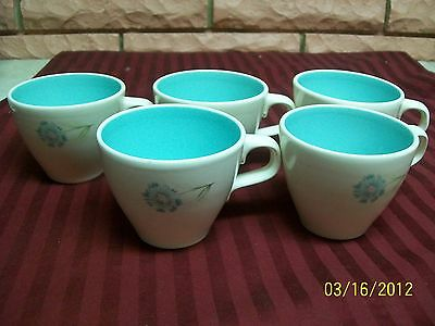 TAYLOR SMITH & TAYLOR BOUTONNIERE CUPS SET OF FIVE