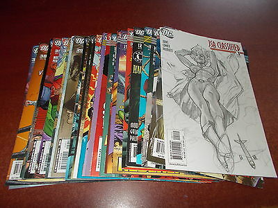 Lot of 32 Different JSA Classified #1-39 DC 2005 Comic Book Justice Society