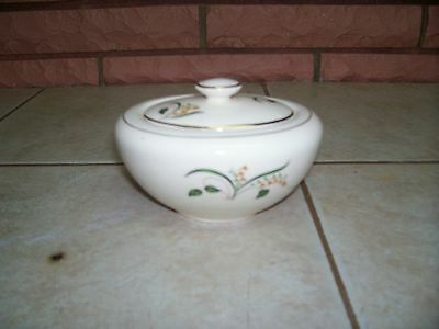 "KNOWLES USA 3"" SUGAR BOWL WITH LID"