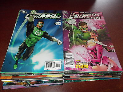 Lot of 48 Different Green Lantern #2-63 DC 2005 Comic Book Brightest Day NICE