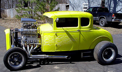 Ford : Model A 2 Door Coupe 1930 ford model a coupe street rod