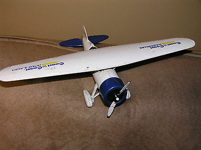 ERTL DIE-CAST METAL COAST TO COAST HARDWARE AIRPLANE BANK MADE IN MEXICO)