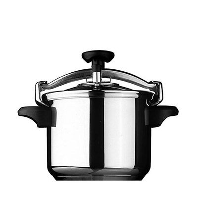 NEW Silampos Classic Stainless Steel Pressure Cooker 6L 22cm (RRP $239)