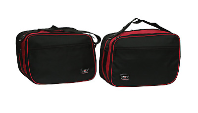 Bmw R1200Rt Pannier Liner Bags Expandable In Red And Black Colour