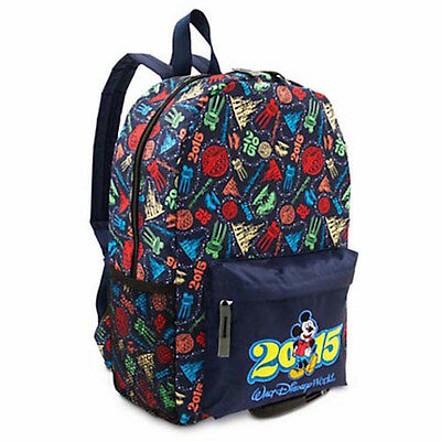 disney parks walt disney world 2015 backpack new with tag