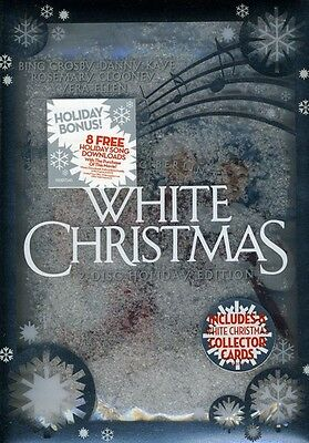 White Christmas [Limited Edition] [2 Discs] [3D Snow Globe Pa (2010, DVD New) WS