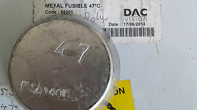 Alloy 117/47  Indium based low melting point 47C-117F New lot of 1kg.