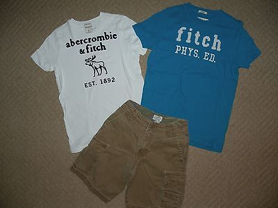 HUGE Boy's Abercrombie & Ralph Lauren Polo Spring lot of 21 size 10 Large - EUC