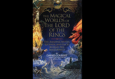 The Magical Worlds of Lord of the Rings Colbert, David Illust Free Ship