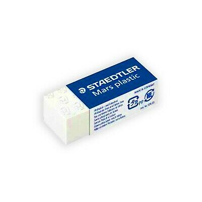 "STAEDTLER MARS ""MINI SIZE"" PLASTIC RUBBER ERASERS [Box of 30 Erasers]"