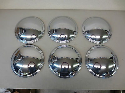 vintage chevy ford plymouth dodge buick hubcaps dog dish steel wheel cover fits?