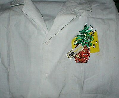 Vintage Del Monte Rags to Riches 100% Cotton shirt pineappple circa 1970's MINT
