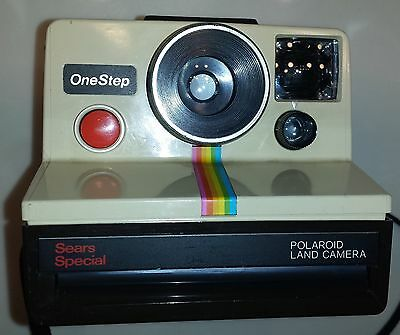 Film-tested Polaroid Onestep Sears Special Edition & Flashbars