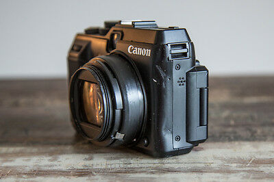 Canon Powershot G1 X 14.3 MP 1.5 inch CMOS Digital Camera FOR PARTS  00269