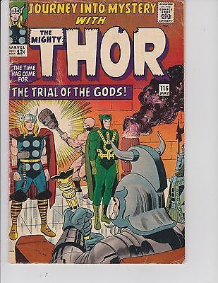 Journey into Mystery (Thor)  #116 (VG  4.0) May-1965,  Marvel