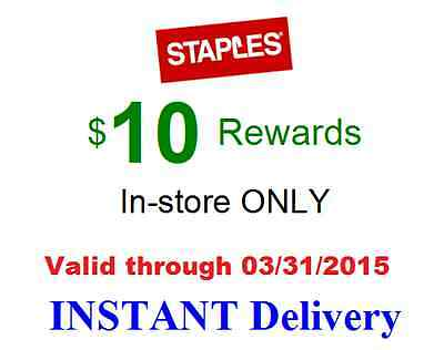 Staples $10 Mystery Rewards NOT-5-10-25-50-75-off-coupon (check email spam)