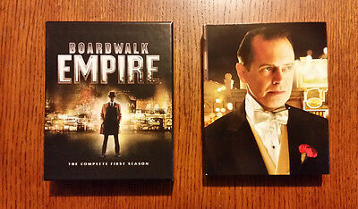 Boardwalk Empire: The Complete First Season (Blu-ray, 2012) Mint, FAST SHIPPING!