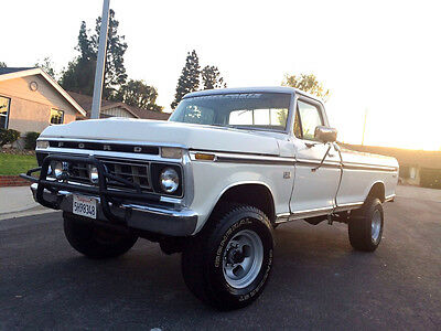 Ford : F-250 RANGER  XLT  1976 ford ranger f 250 xlt 4 x 4 high boy
