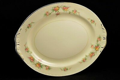 "Homer Laughlin Eggshell Georgian Countess 13"" Oval Serving Platter"