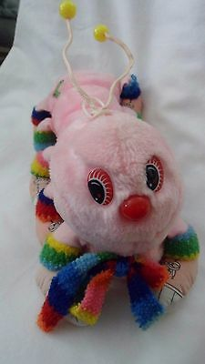 """Vintage Commonwealth Lots a Lots of a Leggggs 1980's Pink Caterpillar  Worm 13"""""""
