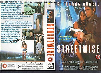 Streetwise, C. Thomas Howell Video Promo Sample Sleeve/Cover #13894
