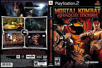 Mortal Kombat: Shaolin Monks  (Sony PlayStation 2, 2005)