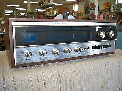 Working Circa 1970 era  SHERWOOD S8900A STEREO/ DYNAQUAD  AMPLIFIER Adult owned