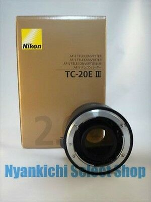 Nikon TELE-CONVERTER AF-S Teleconverter TC-20E III 2x from Japan NEW NIB