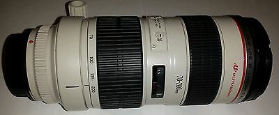 Canon EF 70-200 mm F/2.8 L USM Non-IS Lens In  Very Good Condition