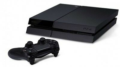 Sony Playstation 4 Ps4 500Gb Jet Black Console + Controller Bundle